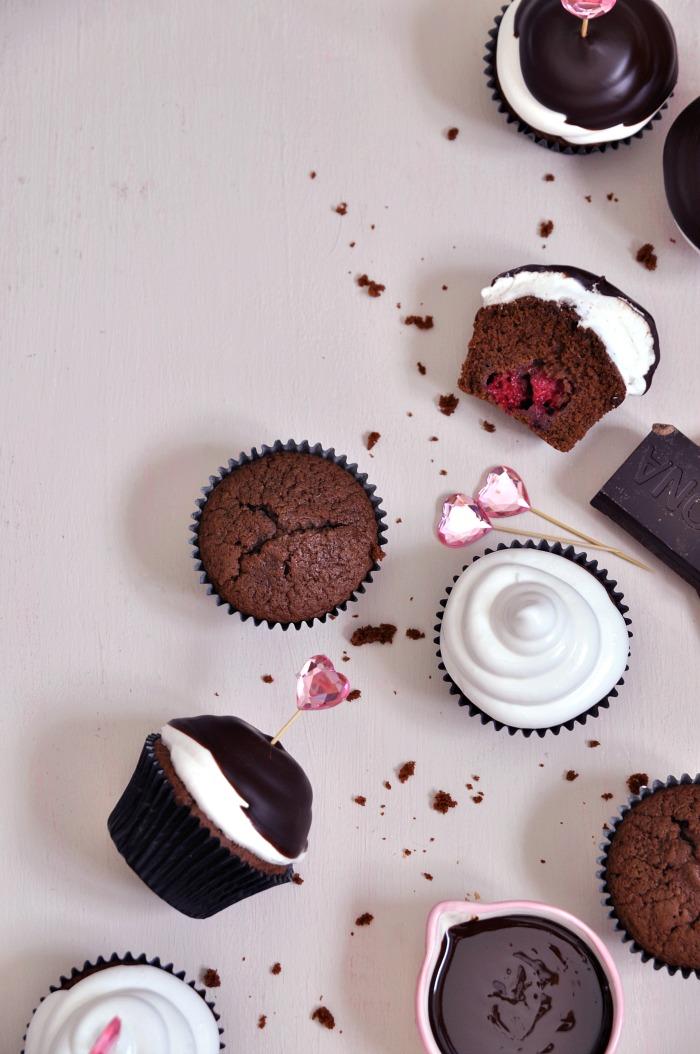 hi-hat cupcakes de chocolateEl blog de Enjuliana