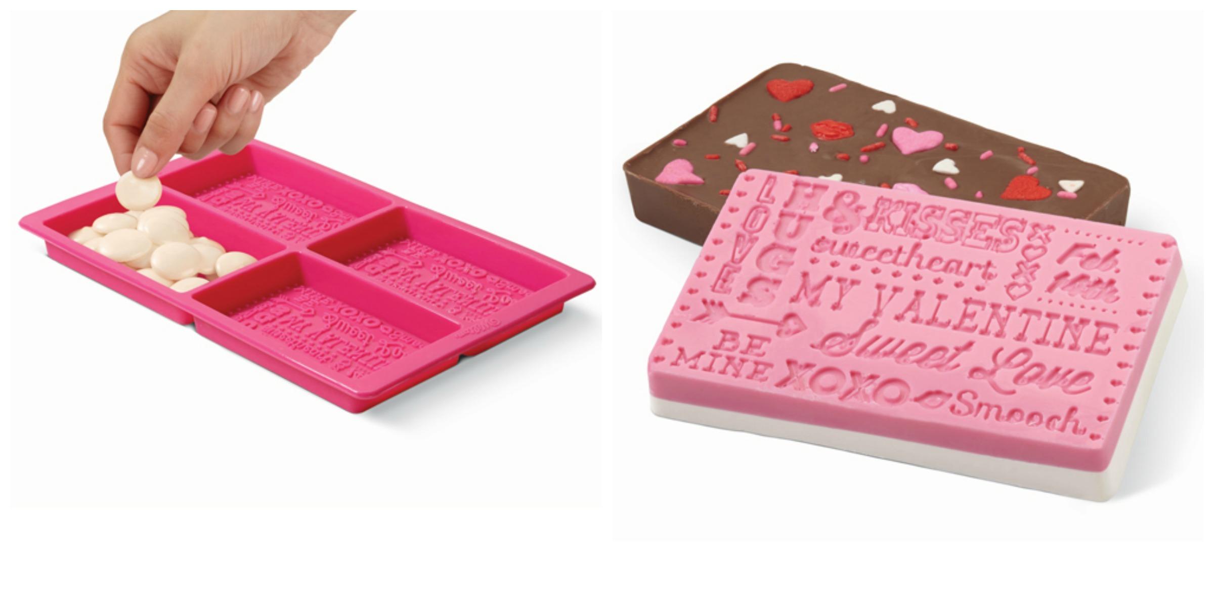 Moldes de chocolate para San Valentín