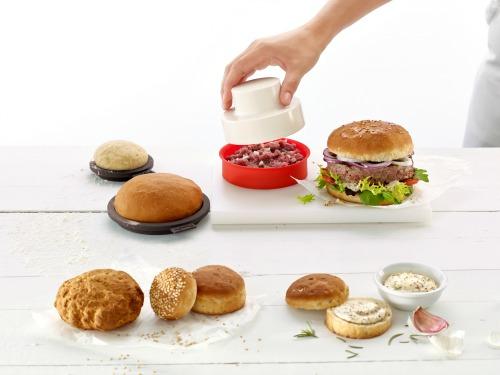 Con el Kit Burger de Lékué, hamburguesas para todos.